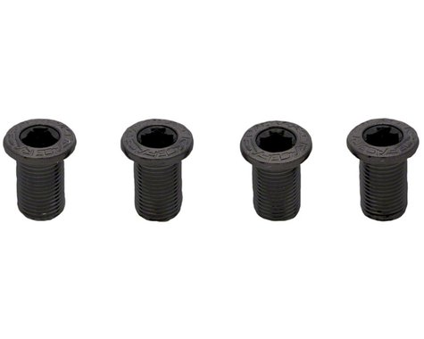 Race Face Chainring Bolt Pack Set (Black) (12.5mm) (4)