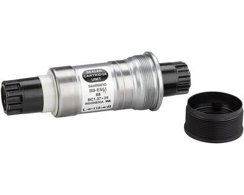 Shimano ES51 Octalink V2 Spline Bottom Bracket (Black) (BSA) (68mm) (118mm)