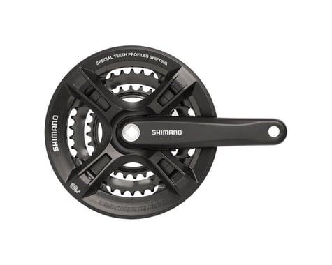 Shimano Altus FC-M311 Crankset (Black) (3 x 7/8 Speed) (Square Taper) (175mm) (48/38/28T)