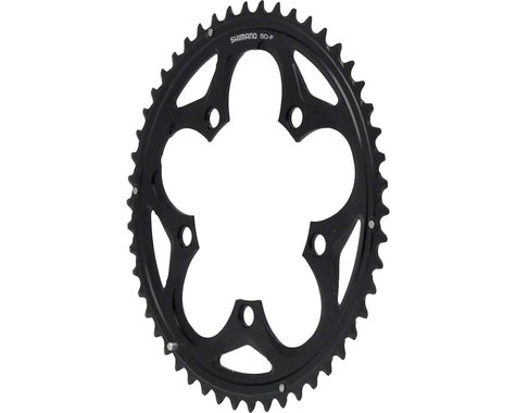 Shimano 105 5750-L Chainring (Black) (110mm BCD) (Offset N/A) (50T)