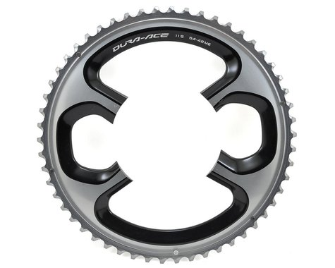 Shimano Dura-Ace FC-9000 11-Speed Chainring (Silver) (110mm BCD) (Offset N/A) (54T)