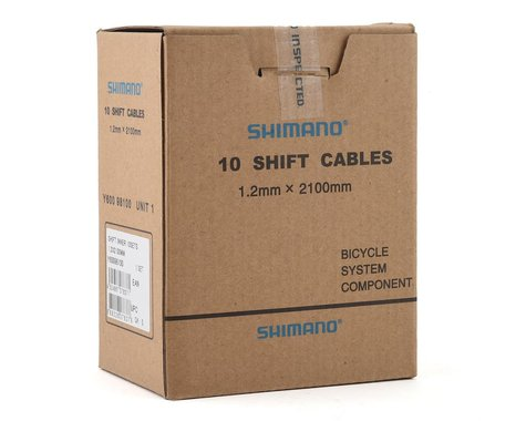 Shimano Shifter Inner Cables (1.2 x 2100mm) (10)
