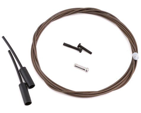 Shimano Dura-Ace Polymer-Coated Stainless Steel Derailleur Cable (1.2 x 2100mm)