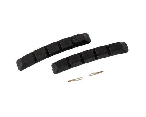Shimano M70R2 Severe Condition V-Brake Pad Inserts (Black) (Pair)