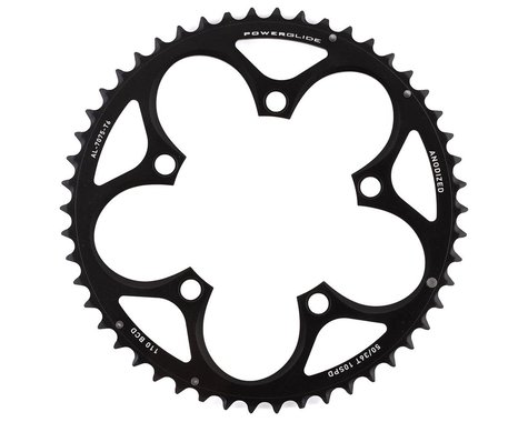 SRAM Force/Rival/Apex 10-Speed Chainring (Black) (110mm BCD) (Offset N/A) (50T)