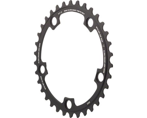 SRAM Red Yaw 10-Speed Chainring (Black) (110mm BCD) (Offset N/A) (34T)