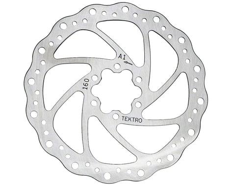 Tektro Wavy Type Disc Brake Rotor (6-Bolt) (160mm)