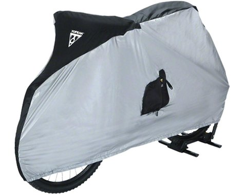 "Topeak Bike Cover for 26 "" MTB Bikes White/Black"