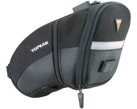 Topeak Aero Wedge Saddle Bag (Black) (L)