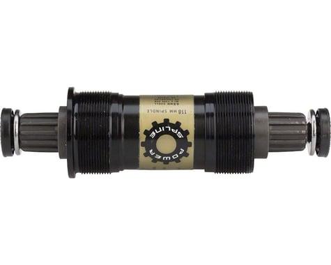Truvativ PowerSpline Bottom Bracket (Black) (BSA) (68mm) (113mm)