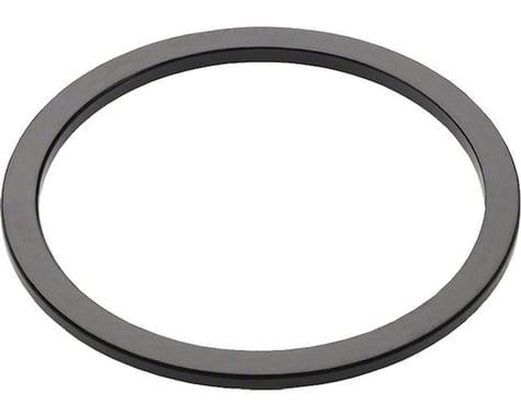 Wheels Manufacturing Black Aluminum Bottom Bracket Spacer (BSA or Italian) (1.8mm)