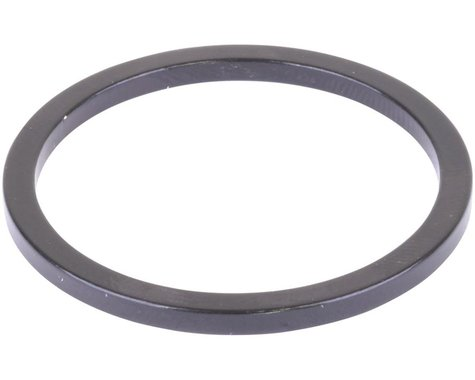 Wheels Manufacturing Black Aluminum Bottom Bracket Spacer (BSA or Italian) (2.5mm)
