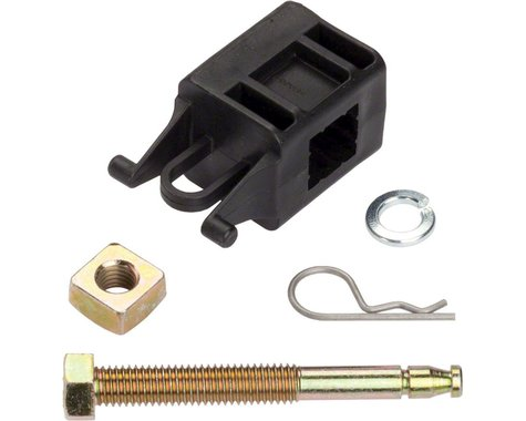 """Yakima 2"""" Receiver Hitch Bolt, Nut, Pin, Washer, and Retainer for DryDock, FullS"""
