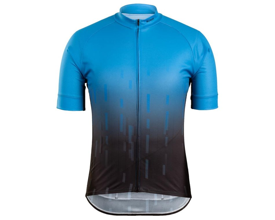 RED NEW. S//S BASE LAYER SUGOI CYCLING SHIRT // JERSEY // TOP LARGE